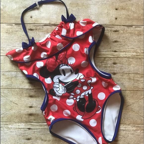 ae321ac57e Disney store Swim | Minnie Mouse Bathing Suit | Poshmark